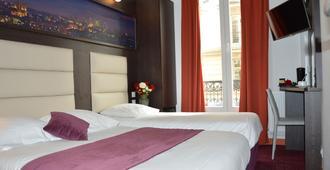 巴黎公园酒店 - 巴黎 - 睡房