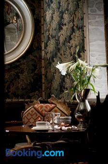 爱丁堡魔力城堡酒店 - 爱丁堡 - 餐厅