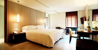 太平洋温泉渡假饭店 - 台北 - 睡房