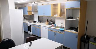 泽米尔斯图加特米特 AB 公寓 - 青年旅舍 - 斯图加特 - 厨房
