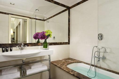 罗马里昂宫酒店 - 罗马 - 浴室