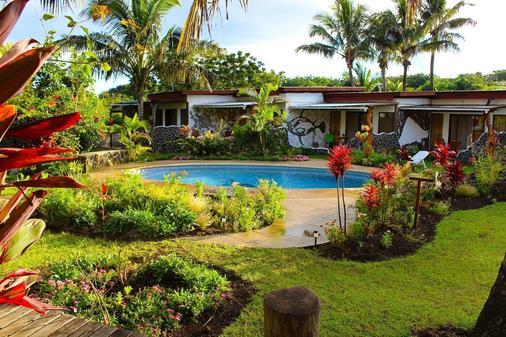 戈梅罗酒店 - 安加罗阿 - 游泳池