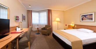 曼海姆市中心莱昂纳多酒店 - 曼海姆 - 睡房