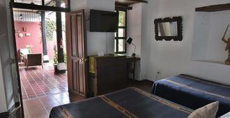 唐迭戈旅馆 - 安地瓜 - 睡房