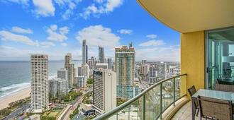 曼特拉太阳城酒店 - 冲浪者天堂 - 阳台