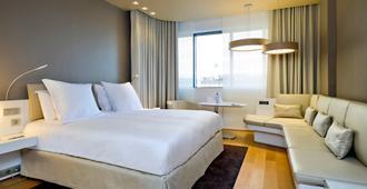 布鲁塞尔中心米迪铂尔曼酒店 - 布鲁塞尔 - 睡房