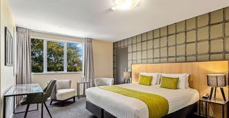 榆树品质酒店 - 基督城 - 睡房