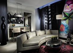 坚岩酒店&加比洛克西赌场 - 比洛克西 - 客厅
