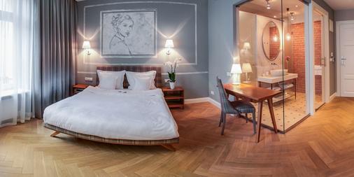 布兰斯卡6号公寓式酒店 - 克拉科夫 - 睡房