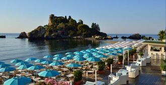 拉普拉吉度假酒店 - 陶尔米纳 - 海滩