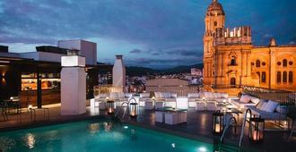 莫里纳拉里欧酒店 - 马拉加 - 露天屋顶