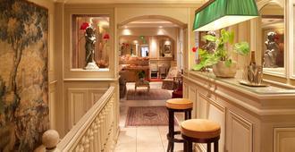 奥马努圣日耳曼酒店 - 巴黎 - 睡房