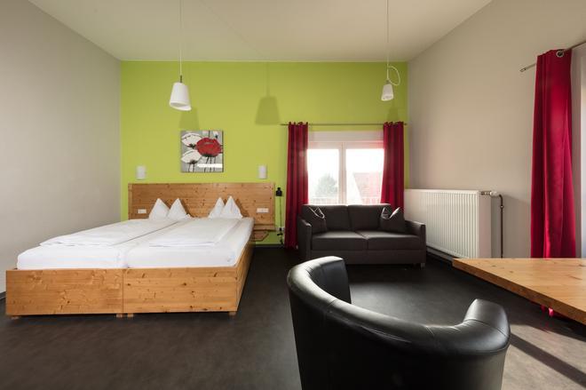 德姆林酒店-咖啡厅 - 维尔茨堡 - 睡房