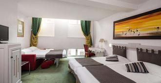 里昂公园酒店 - 里昂 - 睡房