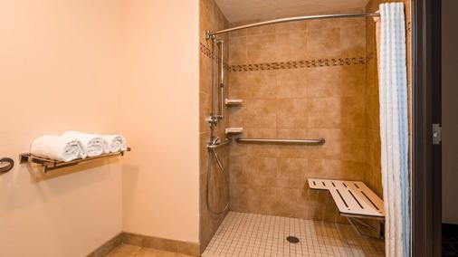 最佳西方机场套房旅馆 - 盐湖城 - 浴室