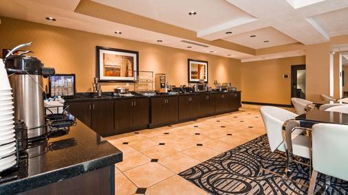 最佳西方机场套房旅馆 - 盐湖城 - 自助餐
