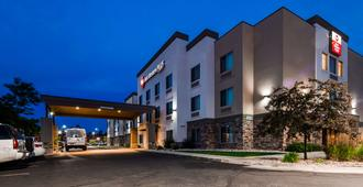 最佳西方机场套房旅馆 - 盐湖城 - 建筑