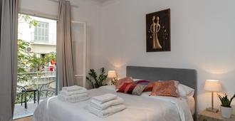 可爱风格住宿酒店 - 雅典 - 睡房