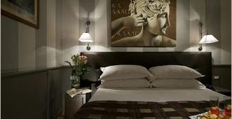 阿尔巴公爵酒庄典藏酒店 - 罗马 - 睡房