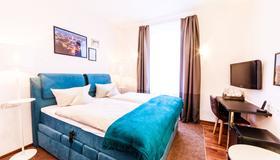凱斯霍夫酒店 - 卡尔斯鲁厄 - 睡房