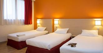 普瑞米尔里尔中央经典酒店 - 里尔 - 睡房
