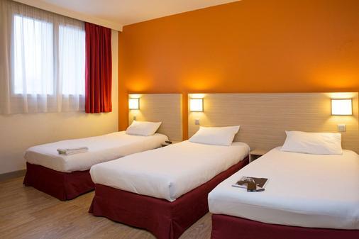 里尔中心首相经典酒店 - 里尔 - 睡房