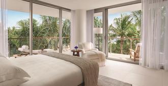 迈阿密海滨艾迪逊酒店 - 迈阿密海滩 - 睡房