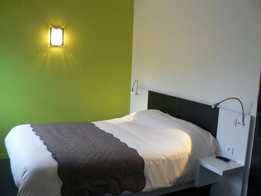 鲁昂中心布里特酒店 - 鲁昂 - 睡房