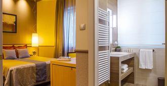 布达佩斯安德赛玛麦森酒店 - 布达佩斯 - 睡房