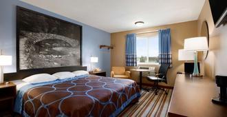 瑟尔布拉夫斯速8旅馆 - 康瑟尔布拉夫斯 - 睡房
