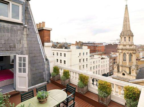 曼德维尔酒店 - 伦敦 - 阳台