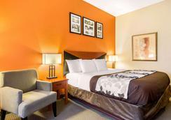 雅典斯利普套房酒店 - 阿森斯 - 睡房