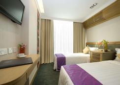 宏基国际宾馆 - 香港 - 睡房