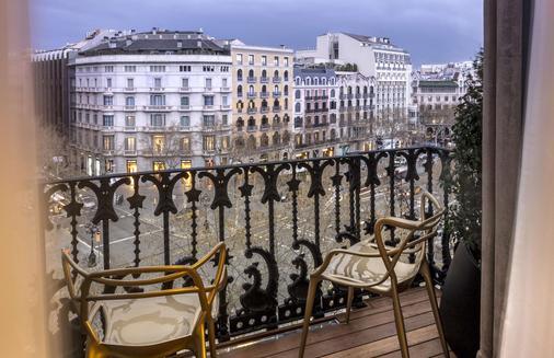 巴塞罗那纪念碑酒店 - 巴塞罗那 - 阳台
