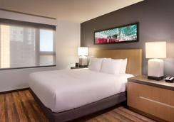 波特兰市中心凯悦嘉寓酒店 - 波特兰 - 睡房