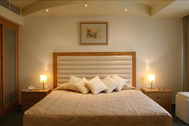 欧罗巴广场酒店 - 尼科西亚 - 睡房