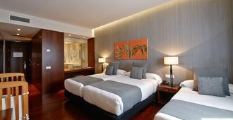 卡利斯玛丽内达酒店 - 拉科鲁尼亚 - 睡房