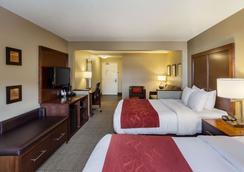 大学康福特套房酒店 - 林肯 - 睡房