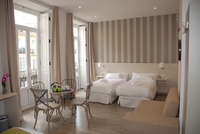 圣洛伦索精品酒店 - 巴伦西亚 - 睡房