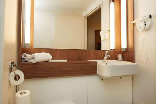钟楼南特中央圣雅克酒店 - 南特 - 浴室