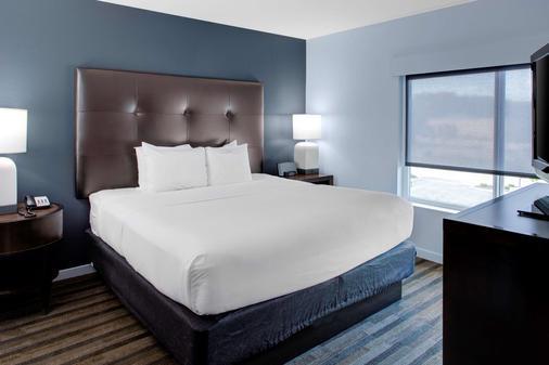 罗利达拉姆机场凯悦嘉寓酒店 - 莫里斯维尔 - 睡房
