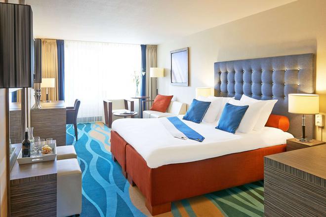 卡尔顿海滩酒店 - 海牙 - 睡房