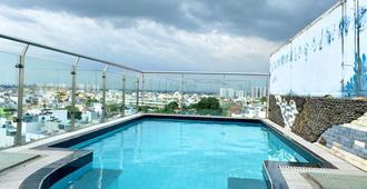 哈欧2号酒店 - 胡志明市 - 游泳池
