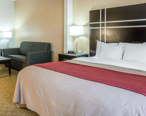 莫米托利多(I80-90)康福特茵套房酒店 - 莫米 - 睡房