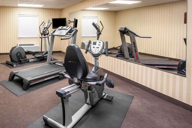 安眠套房酒店-机场 - 珍珠城 - 健身房