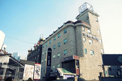 Jj旅馆 - 釜山 - 建筑