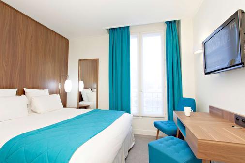 巴黎民族61贝斯特韦斯特酒店 - 巴黎 - 睡房