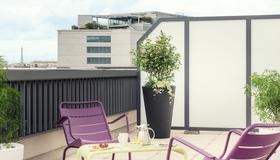 巴黎阿斯特丽兹比利特美居酒店 - 巴黎 - 阳台