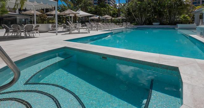 马拉喀什公寓酒店 - 冲浪者天堂 - 游泳池
