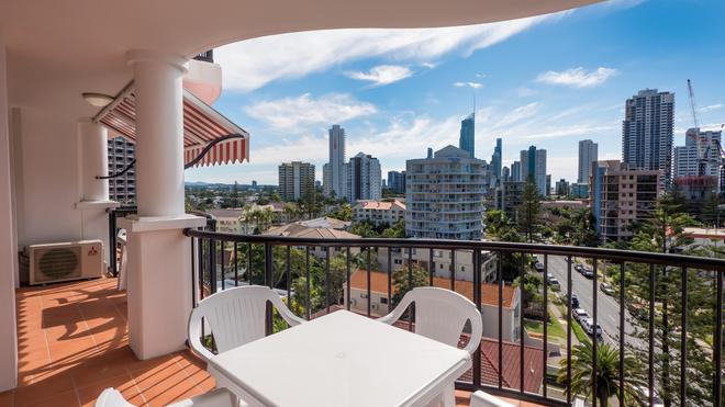 马拉喀什公寓酒店 - 冲浪者天堂 - 阳台
